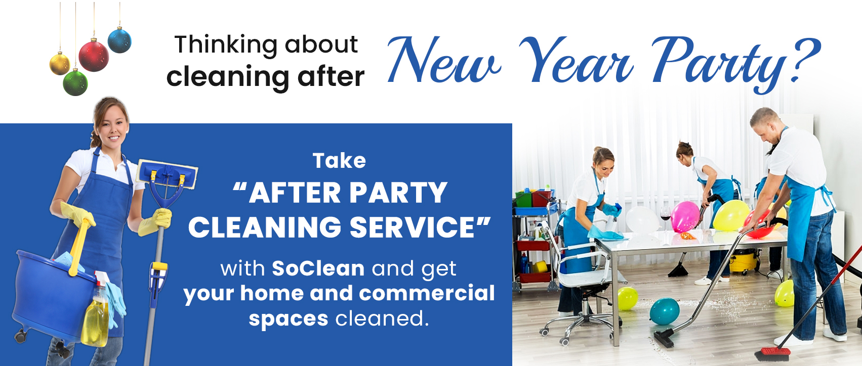 After Party Cleaning Service Dubai?